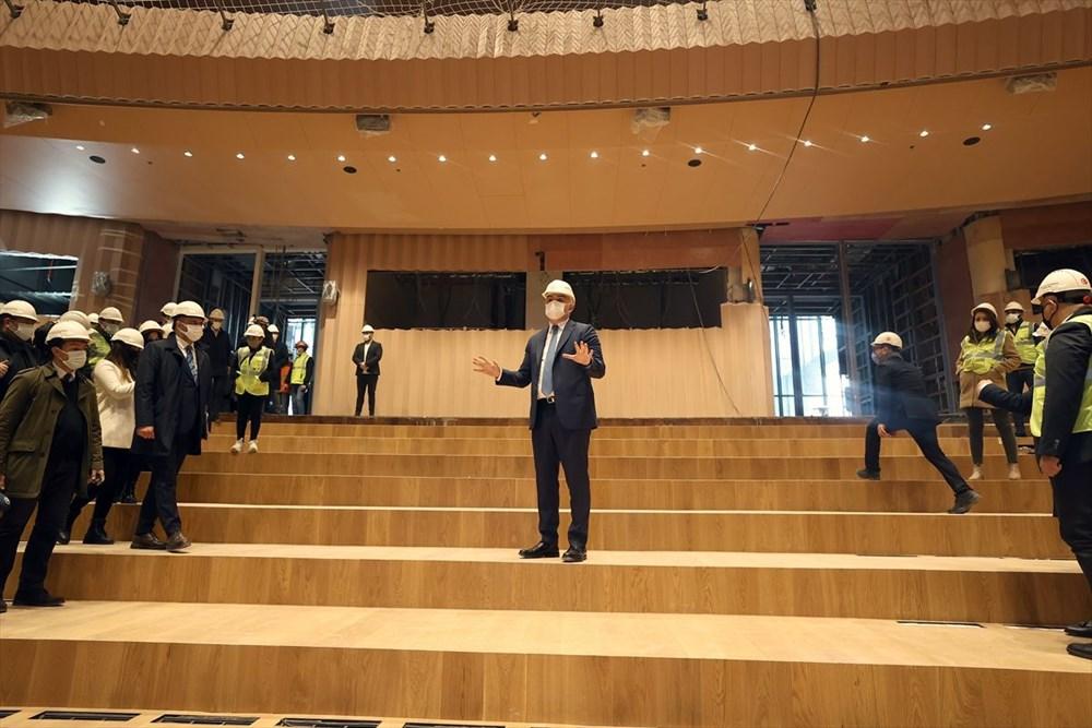 Kültür ve Turizm Bakanı Ersoy: AKM dünyadaki en önemli 10 kültür merkezi arasında yer alacak - 2