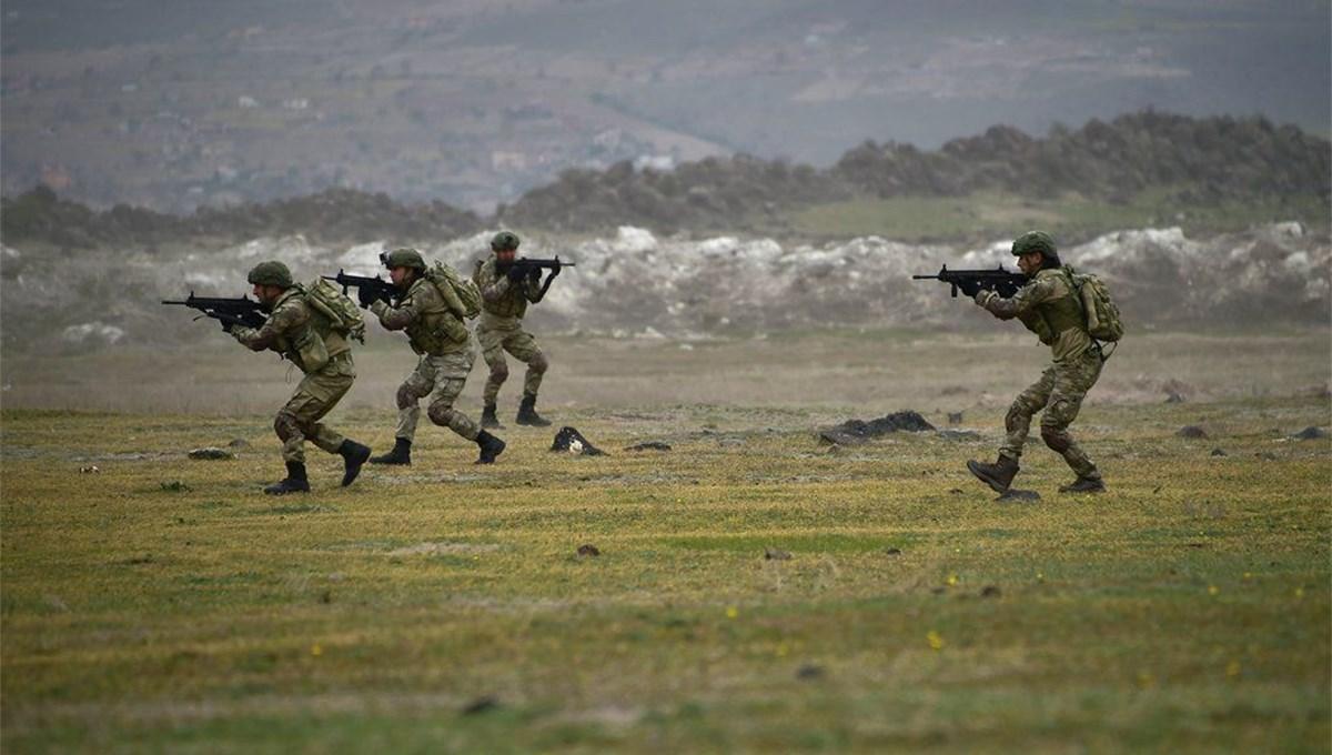 MSB: Taciz atışı yapan 6 PKK/YPG'li terörist etkisiz hale getirildi