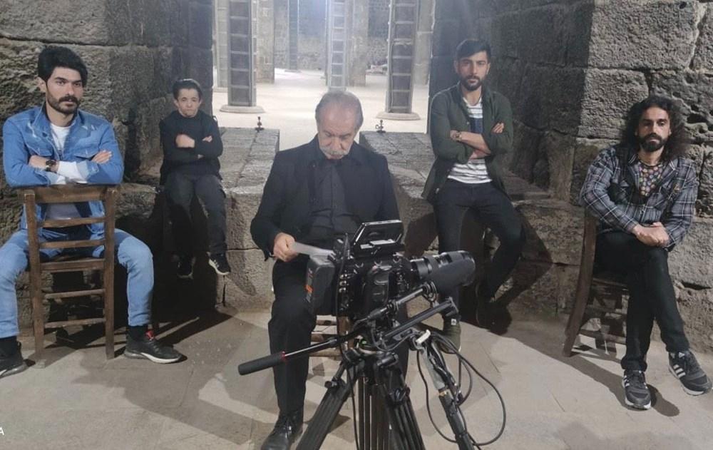 Diyarbakır'ın tarihi mekanları dizi çekimleri için doğal plato oldu - 3