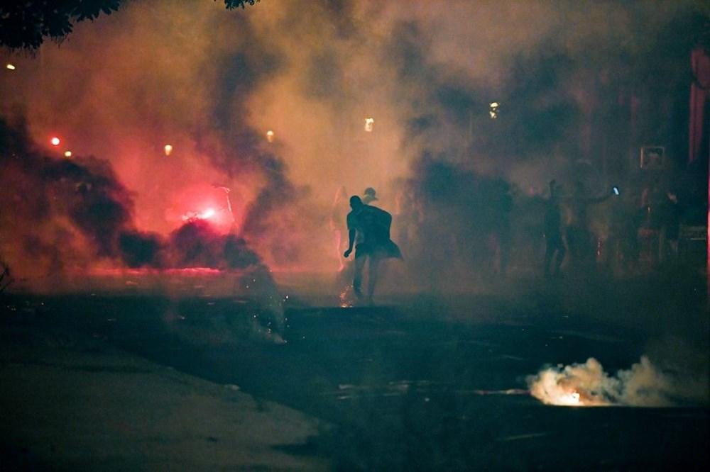 PSG finali kaybetti, Paris karıştı: 83 gözaltı - 9