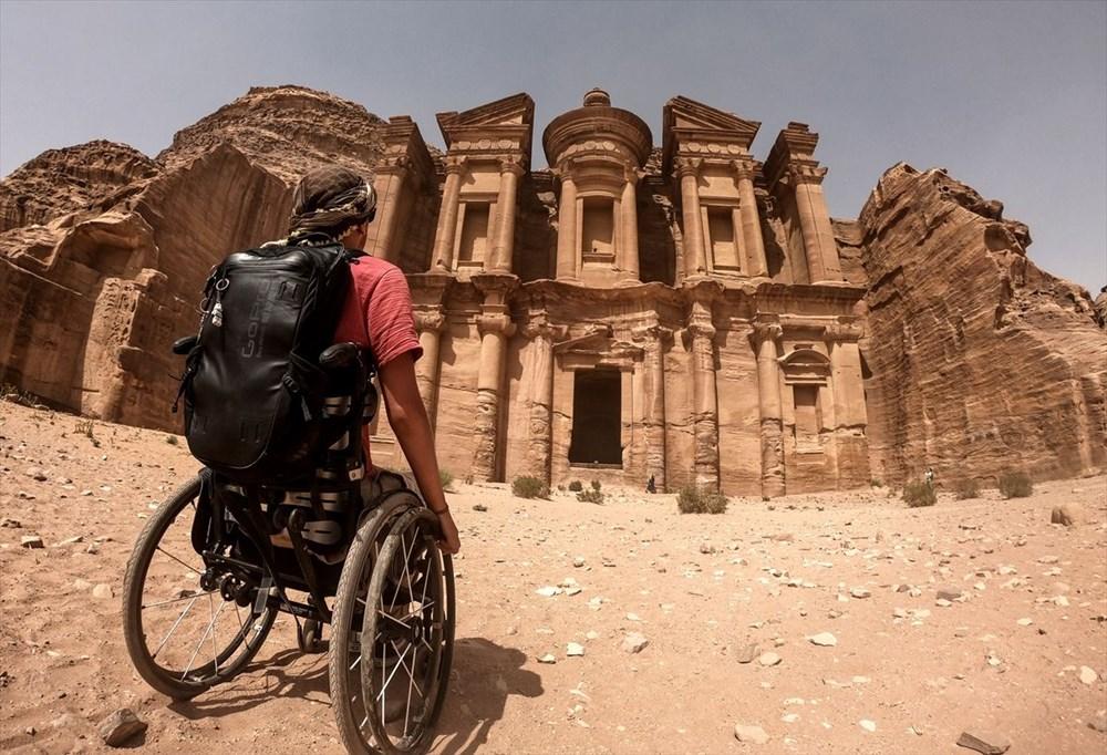 Gezme aşkı engel tanımadı: Hırvat seyyah, tekerlekli sandalyesiyle dünyayı geziyor - 3