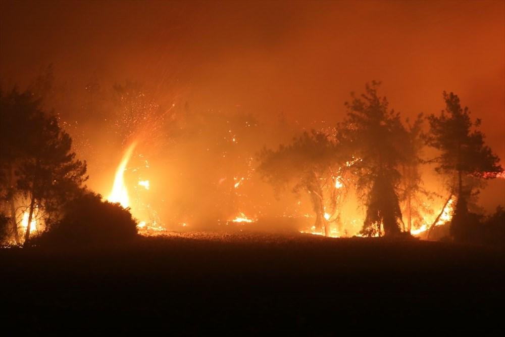 Antalya, Adana, Mersin, Aydın, Muğla, Osmaniye, Kayseri ve Manisa'da orman yangınları - 37