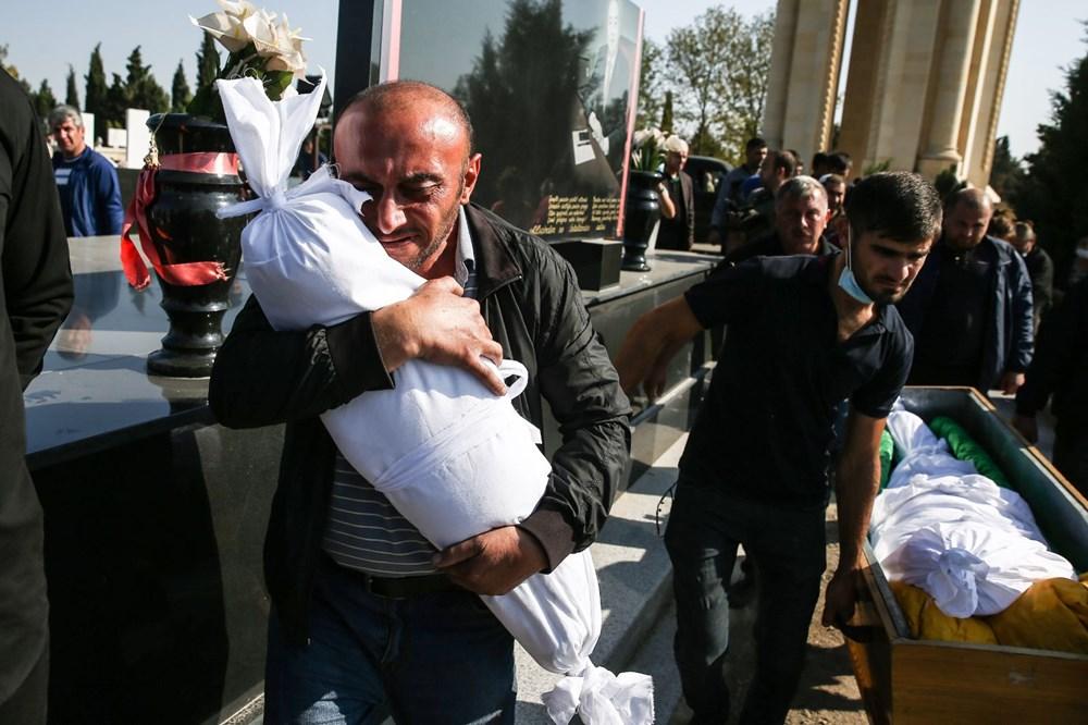 Hain saldırının küçük kurbanları: Cenazede gözyaşları sel oldu - 6