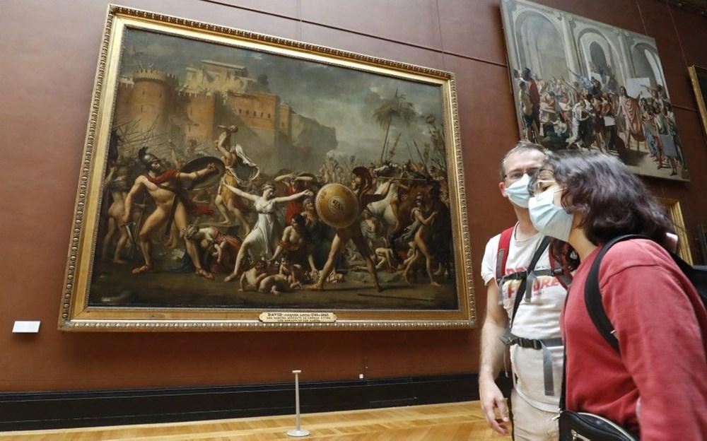 Louvre Müzesi yeniden açıldı (40 milyon euro'luk kayıp) - 14