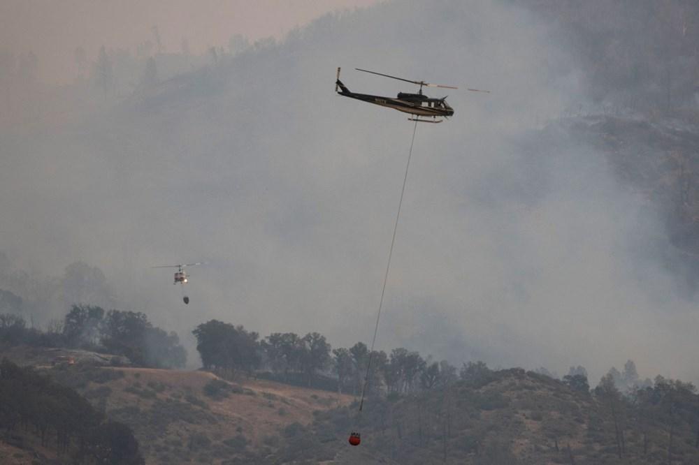 California'da 8 bin kilometrekare alan yandı, rekor kırıldı - 13