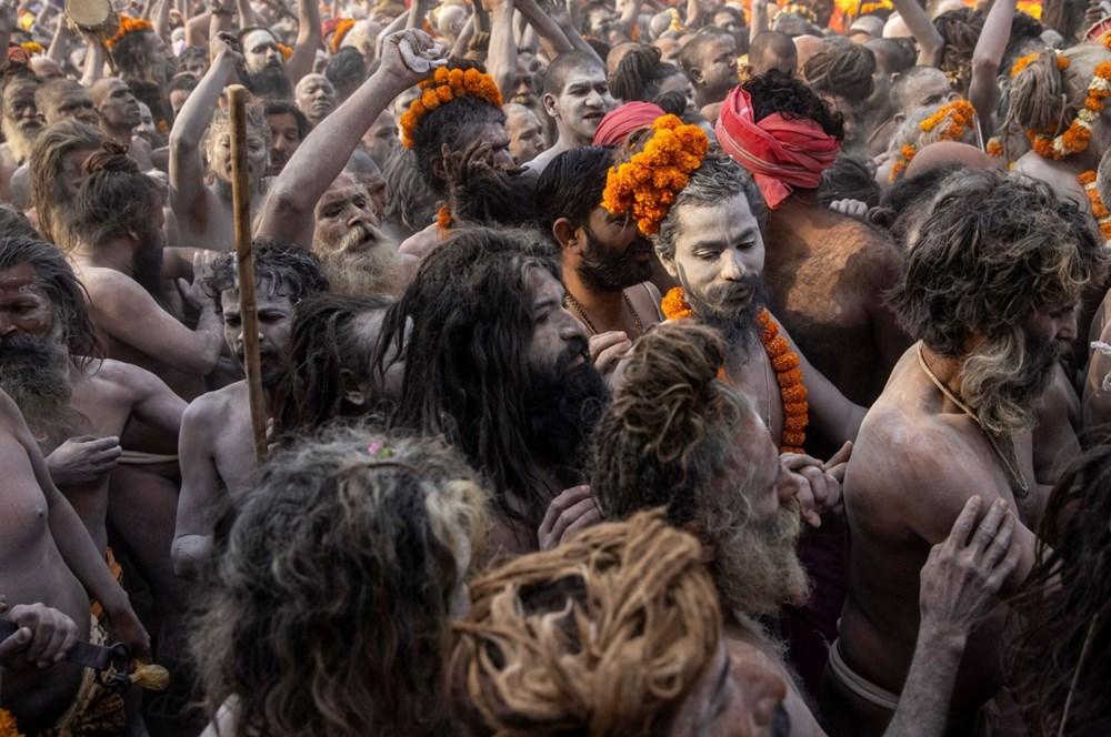 Hacılar Ganj Nehri'nde yıkandı: Hindistan'da günlük vaka sayısı rekor kırdı - 16