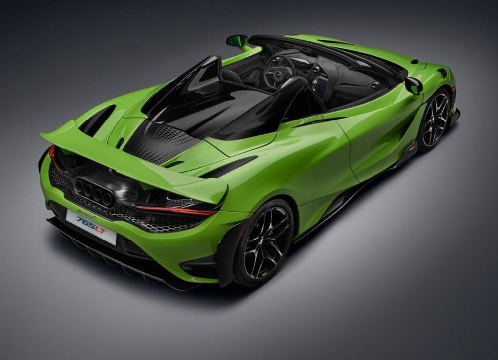 McLaren tarihinin en hızlı üstü açık modeli tanıtıldı:  765LT Spider - 5