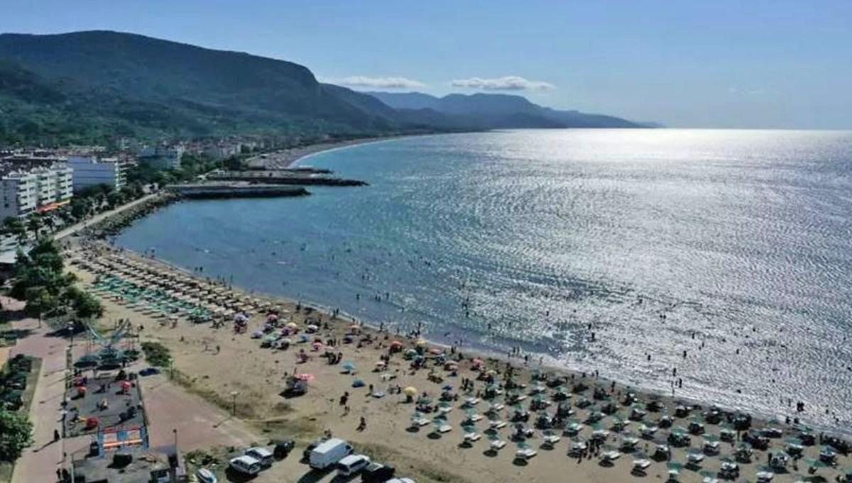 Karadeniz plajları Akdeniz'i aratmıyor