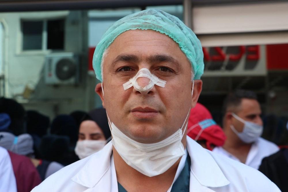 Hastanede güvenlik görevlisi ve doktora saldırı - 6