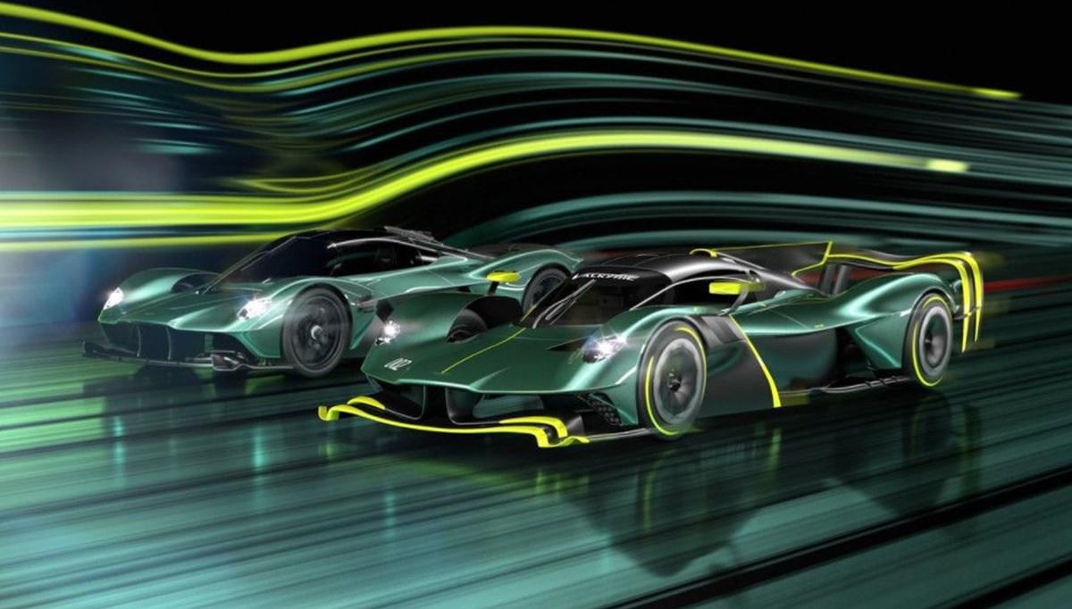 Aston Martin'den Valkyrie'ye özel versiyon:  AMR Pro ortaya çıktı