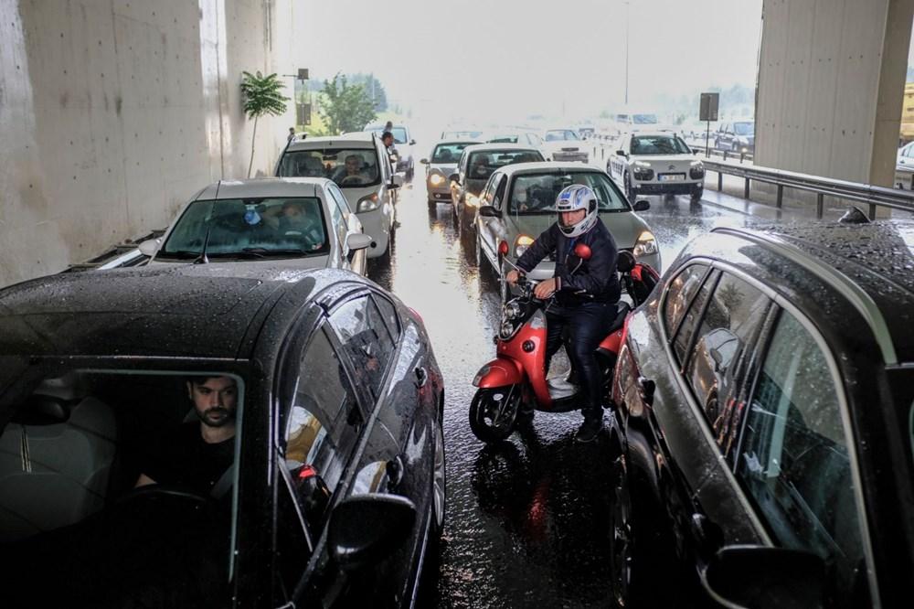 İstanbul'da şiddetli yağış ve dolu - 2