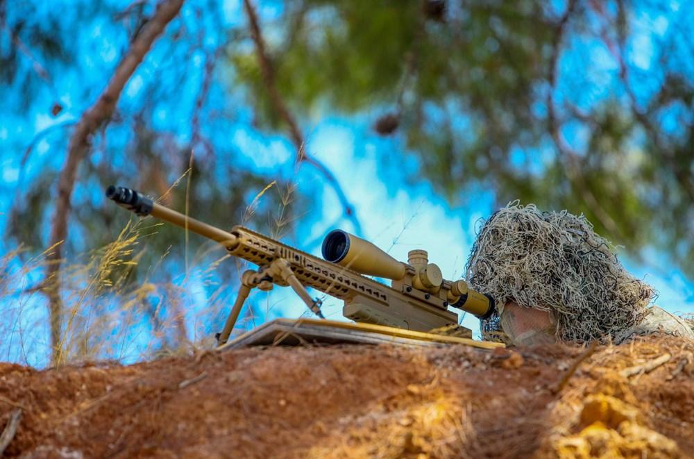 Özel Harekat'tan 35 derece sıcakta zorlu eğitim: Yerli silah 'Çılgın kız' dikkat çekti - 13