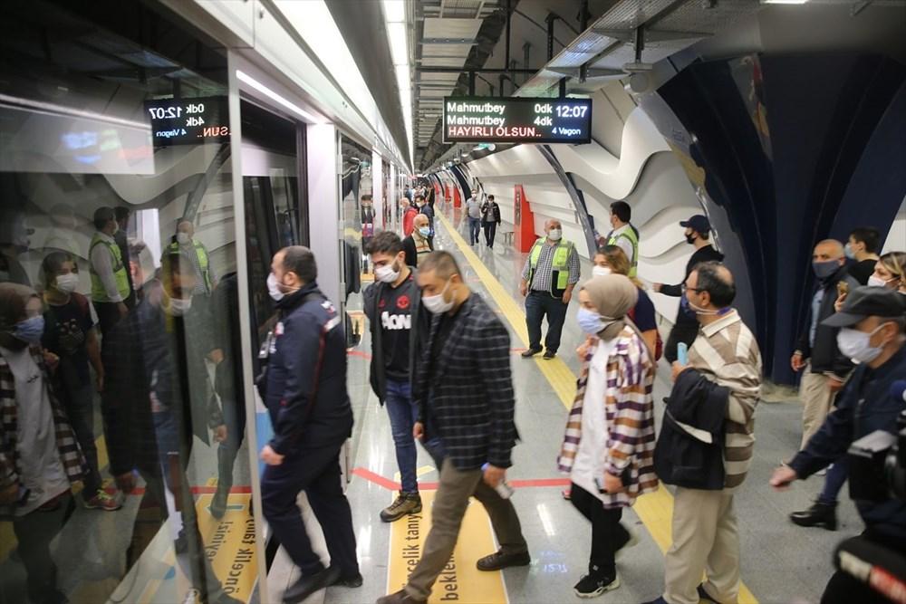 Mecidiyeköy-Mahmutbey Metrosunda seferler başladı - 4