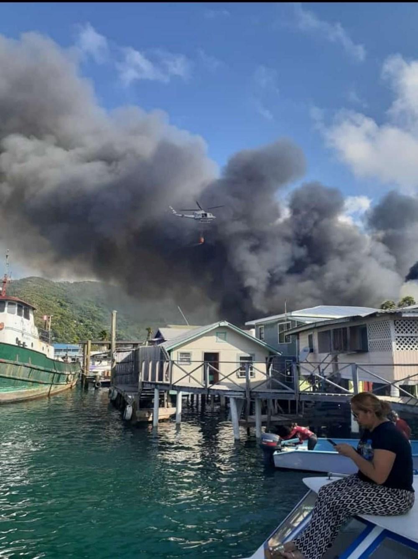 Honduras'ta yangın: En az 90 ev küle döndü - 3