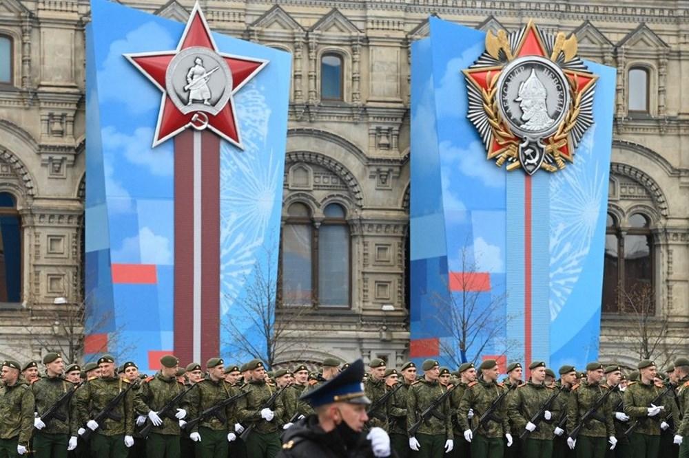 Rusya'da Zafer Günü kutlamaları: Moskova'da askeri geçit töreni - 2