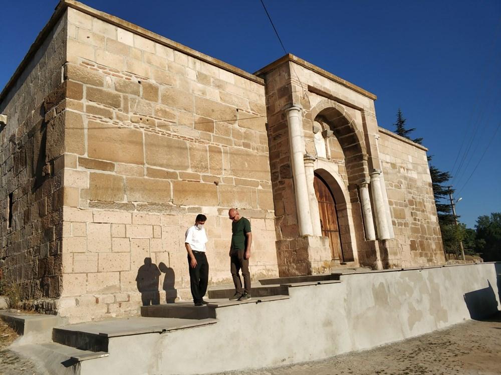 700 yıllık kervansarayda 'korsan' restorasyona suç duyurusu - 2