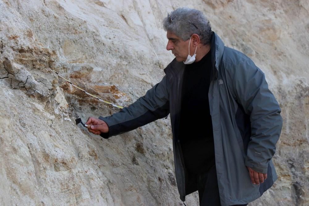 Edirne'de 8 milyon yıllık mamut fosilleri bulundu - 12