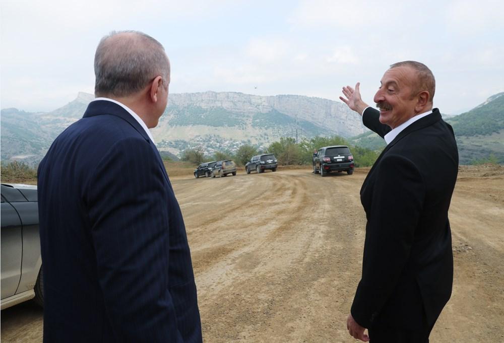Cumhurbaşkanı Erdoğan ve Aliyev Şuşa Beyannamesi'ni imzaladı - 4