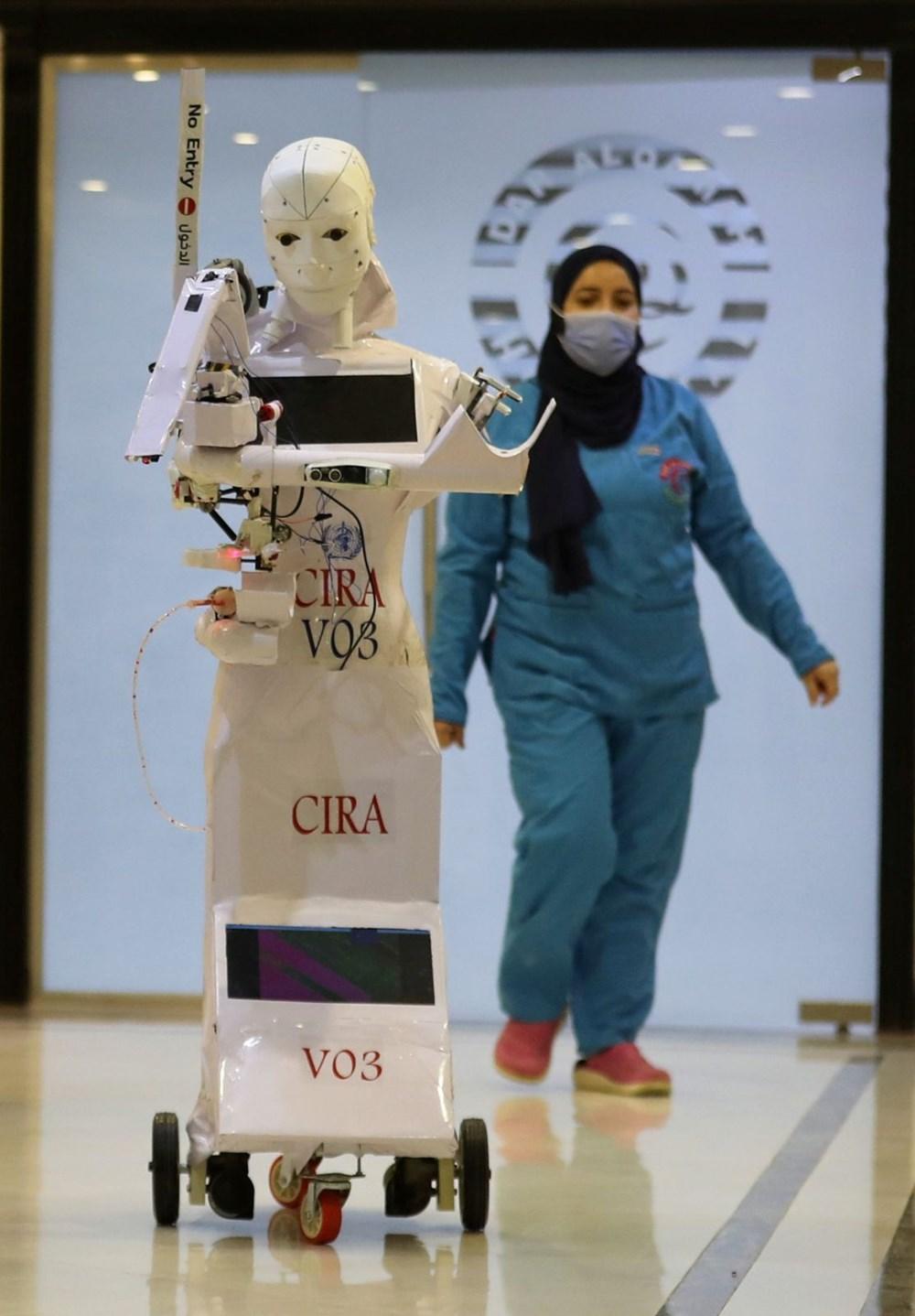 Mısır'da Covid-19'a karşı robotla mücadele - 3