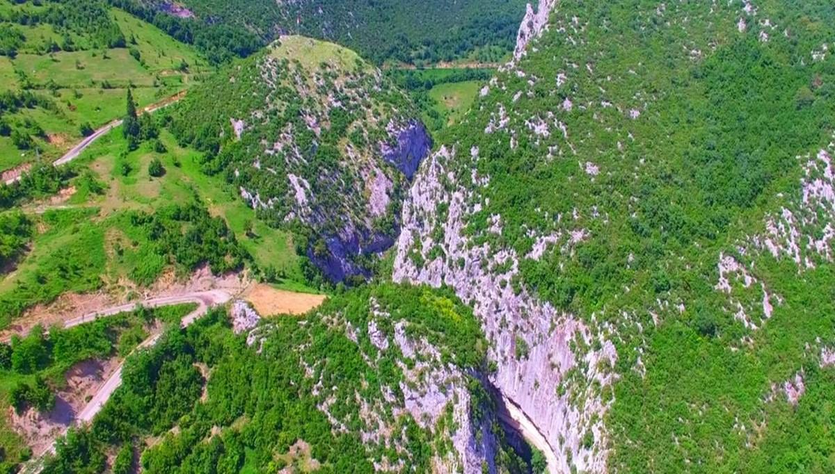 Bartın'ın doğa harikası Ulukaya Şelaleleri 'kesin korunacak hassas alan' ilan edildi