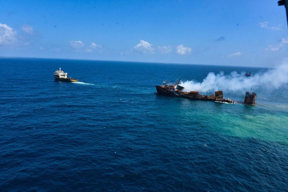 Kimyasal madde taşıyan gemi battı: Sri Lanka çevre felaketiyle karşı karşıya - 9