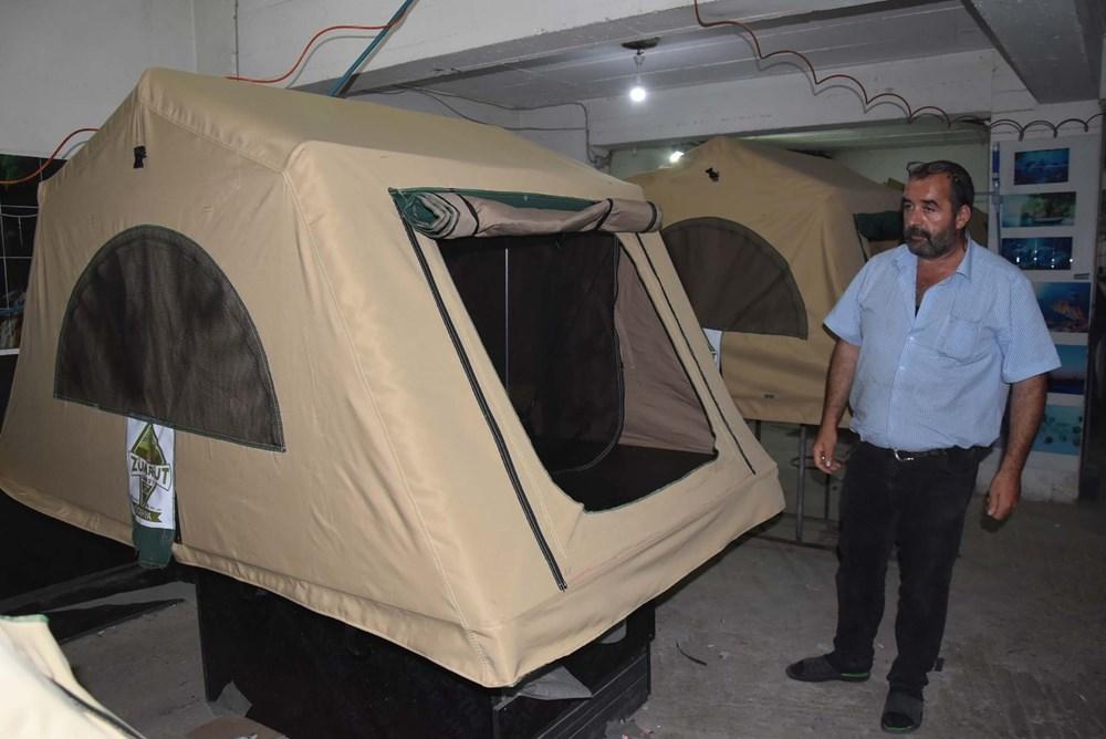 Kamp merakı üretici yaptı: Şimdi siparişlere yetişemiyor - 6