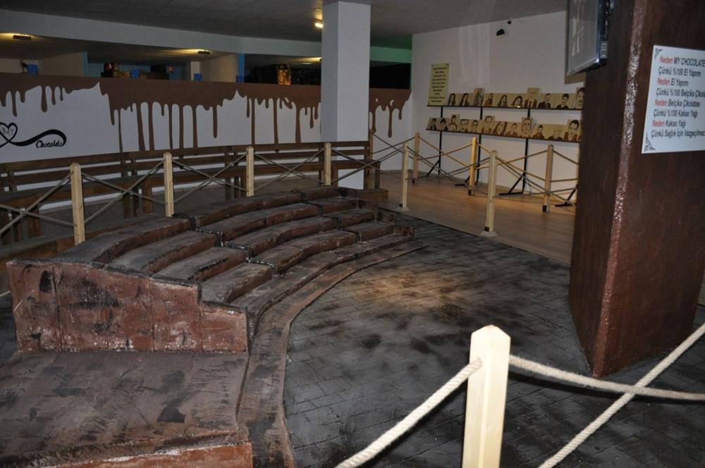 Bodrum'daki Çikolata Müzesi'nde 7 ton çikolata kullanıldı - 5