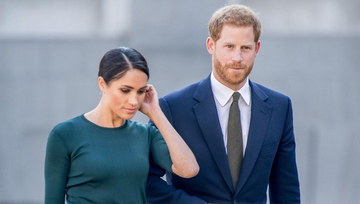 İngilizler Prens Harry ile  Meghan Markle'ı takibi bıraktı
