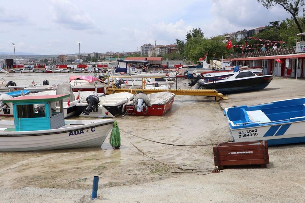 Tekirdağ kıyılarında müsilaj etkisini yitirdi - 12