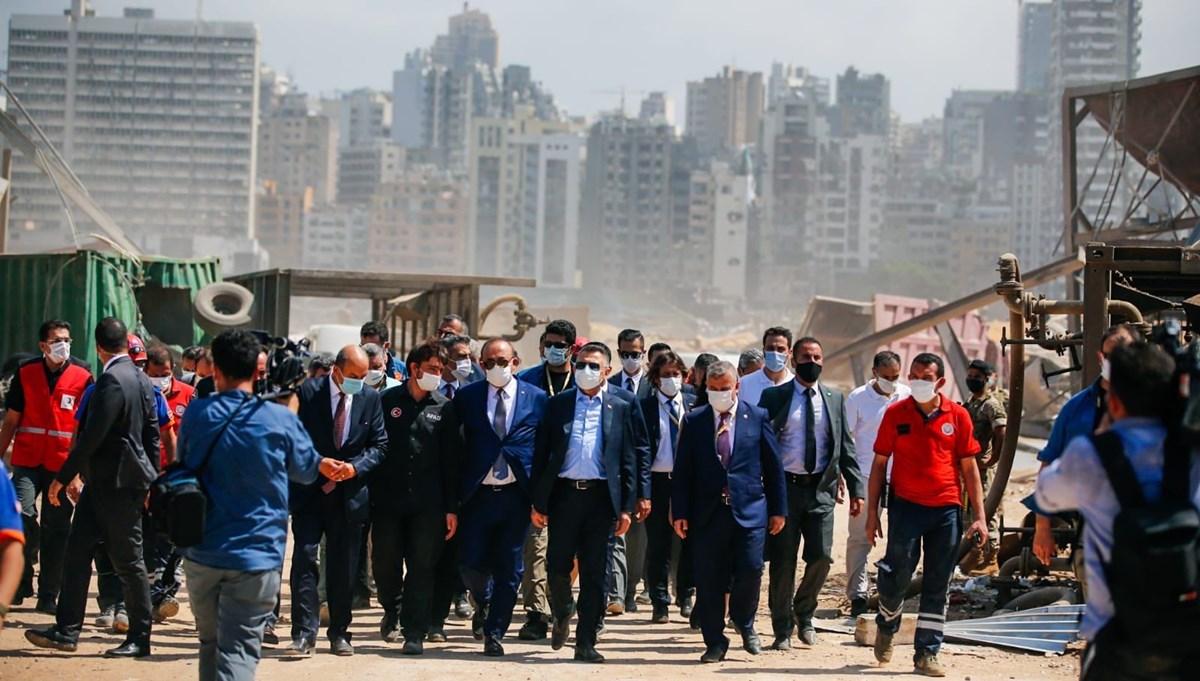 Lübnan'a destek ziyareti