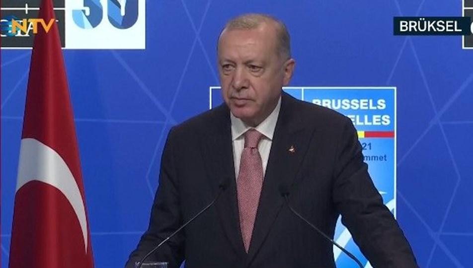 SON DAKİKA HABERİ: Cumhurbaşkanı Erdoğan, Biden'la görüşmesinin ardından açıklama yapıyor