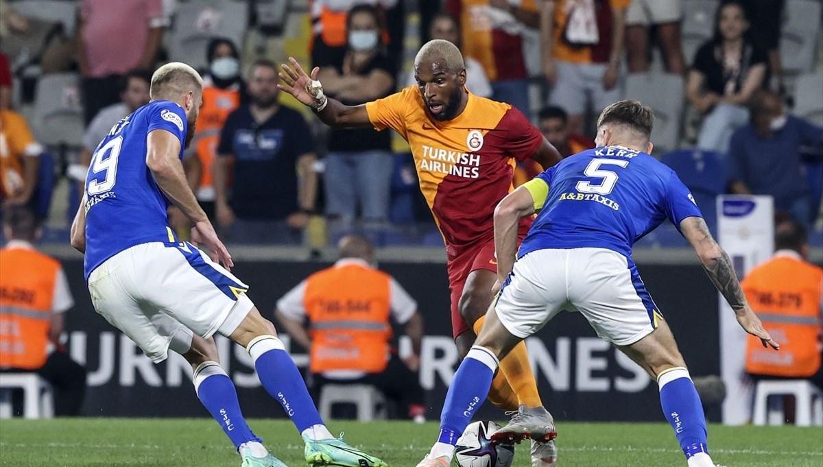SON DAKİKA: Galatasaray, St. Johnstone ile 1-1 berabere kaldı