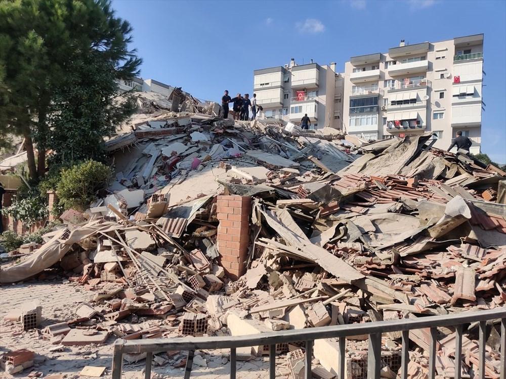 Son Deprem: İzmir'deki 6.6'lık depremden kareler - 4
