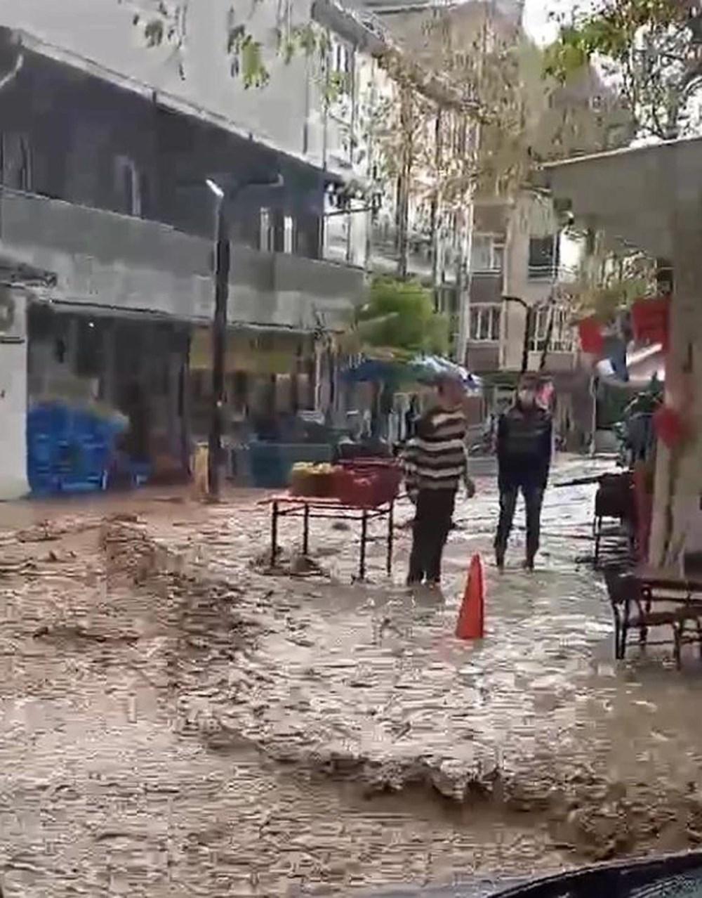 Tekirdağ Şarköy'de önce hortum sonra sağanak - 3