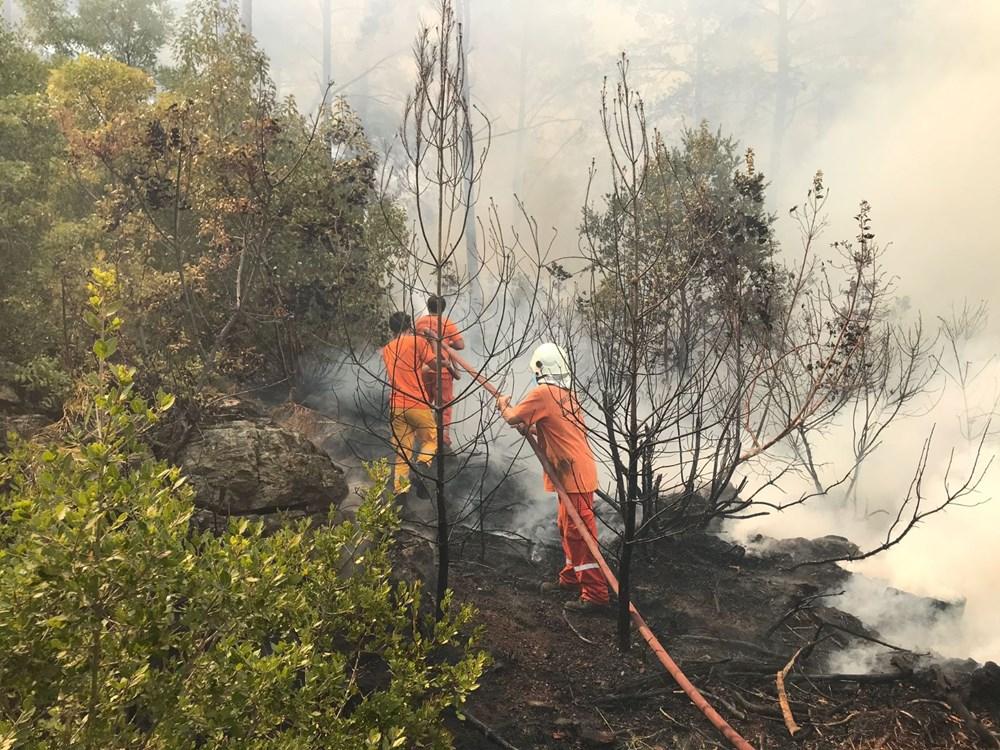 Antalya, Adana, Mersin, Aydın, Muğla, Osmaniye, Kayseri ve Manisa'da orman yangınları - 12