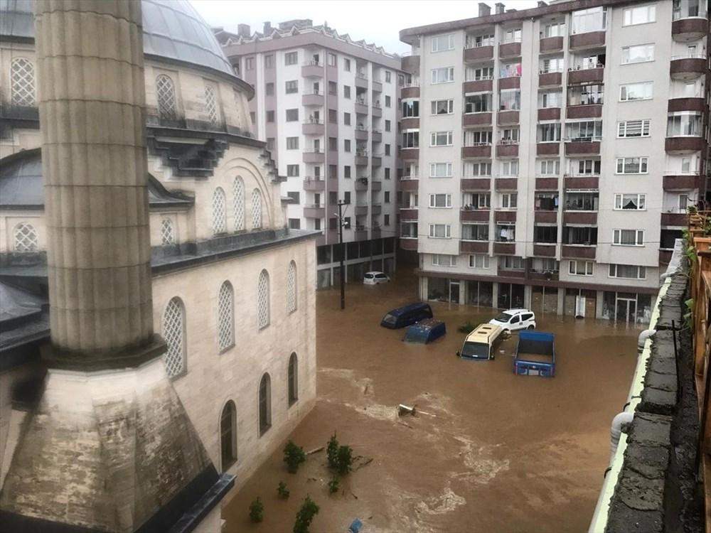 Şiddetli yağış Rize'yi de vurdu: 2 can kaybı - 41