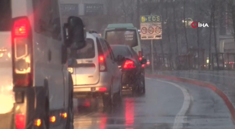 İstanbul'da beklenen kar yağışı başladı - 5
