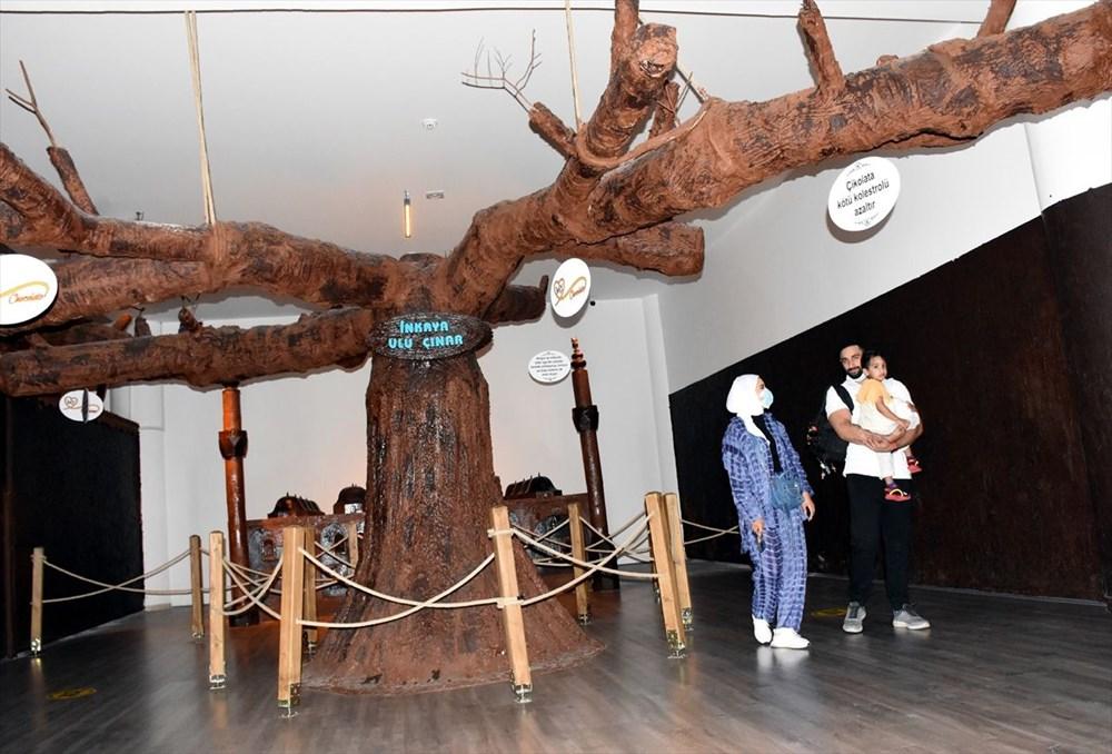 Bursa'nın en tatlı müzesi: 8 ton çikolata kullanıldı (Bursa Çikolata Müzesi) - 3