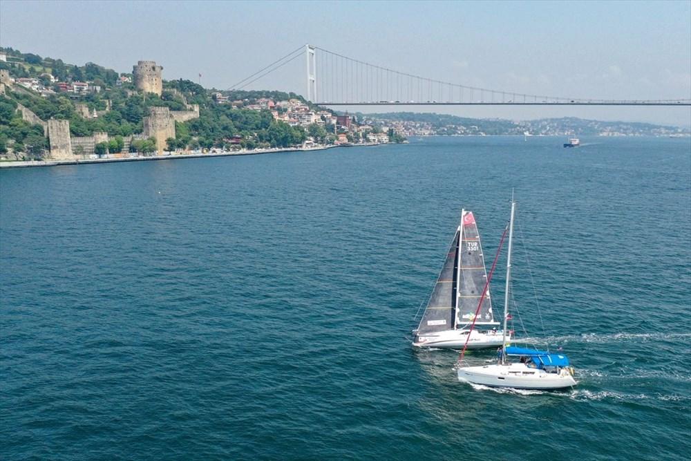 Yelkenci Tolga Pamir, rekor için Türkiye'nin 4 denizini boydan boya geziyor - 3