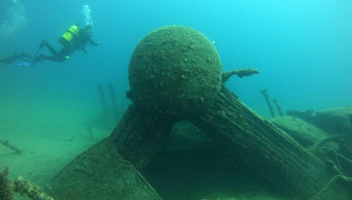 Gelibolu Tarihi Sualtı Parkı dalış turizmine açılıyor