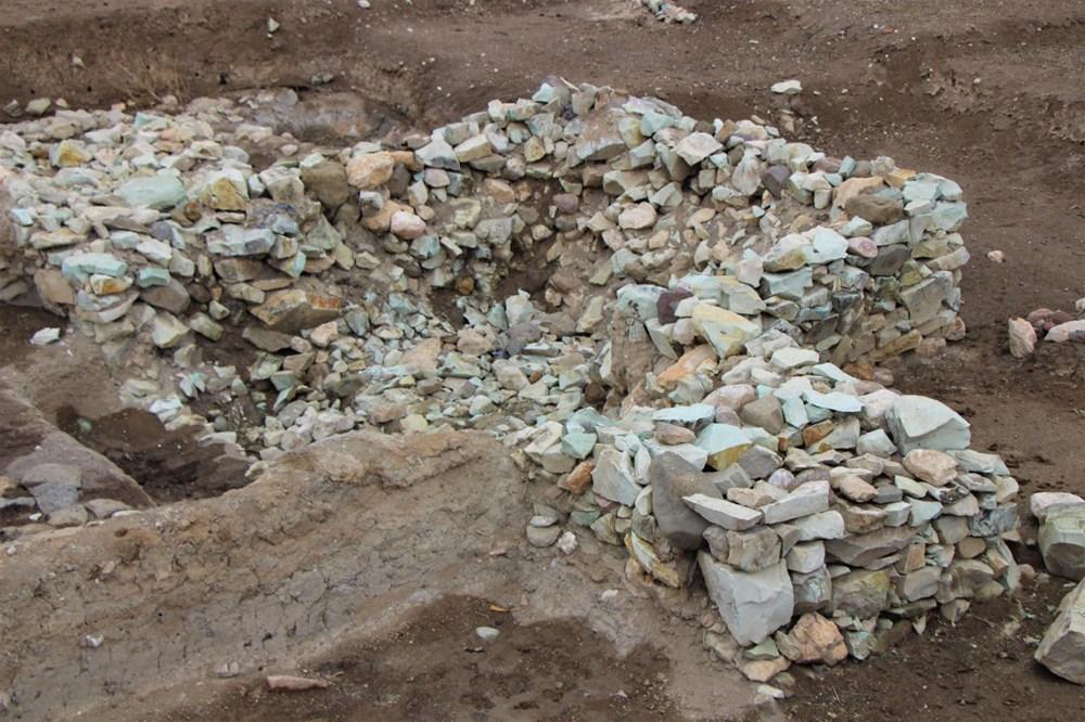 Amasya'da 2 bin 600 yıllık 'Kubaba Sunağı' keşfedildi - 6
