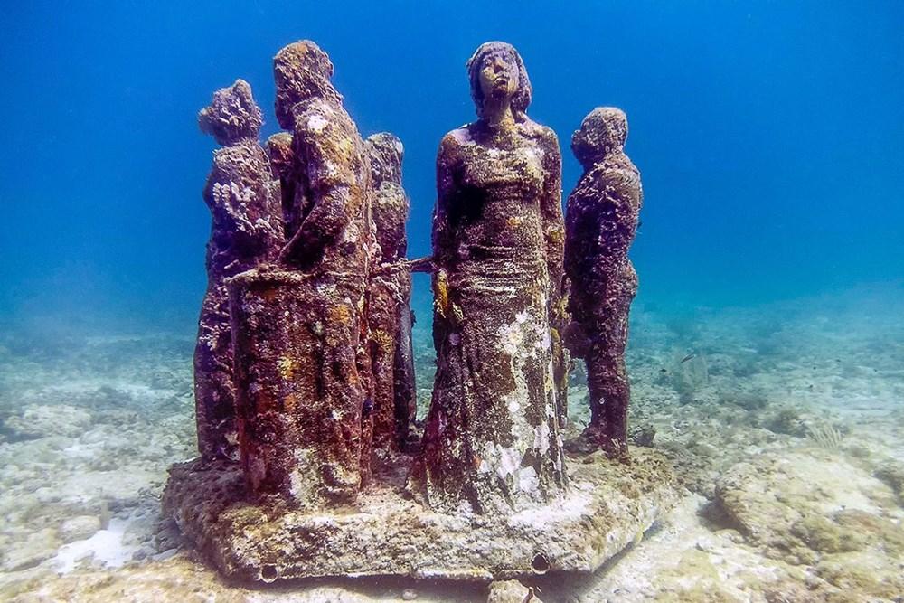 Sanatın en derin hali: Dünyanın en güzel su altı müzeleri - 2