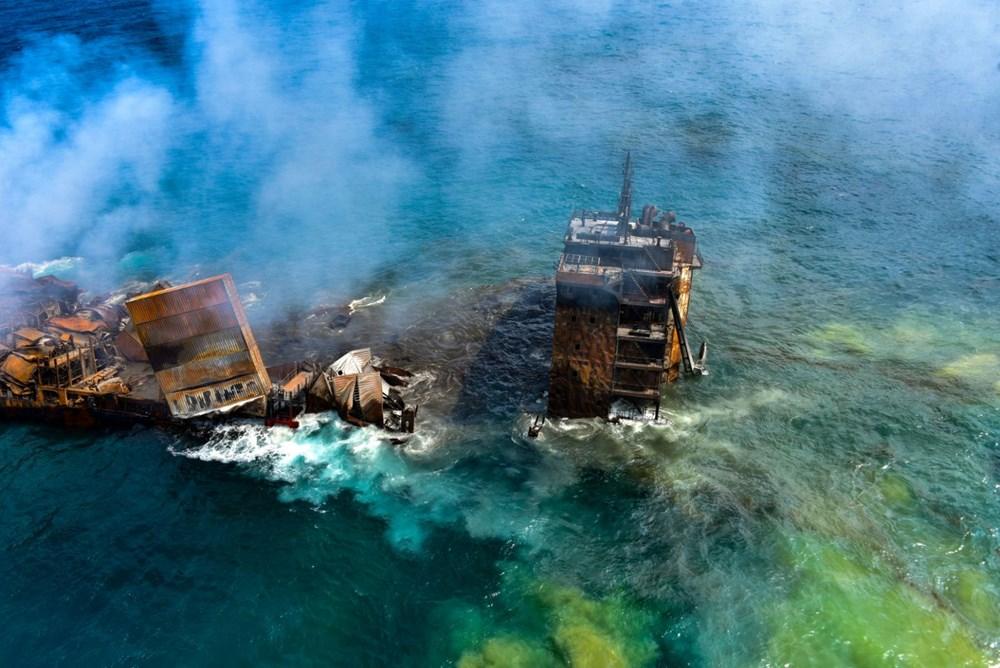 Kimyasal madde taşıyan gemi battı: Sri Lanka çevre felaketiyle karşı karşıya - 1