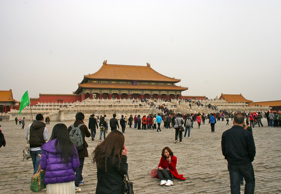 Çin'in başkenti Pekin'de bulunan Yasak Şehir