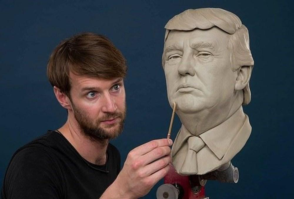 Madame Tussauds Müzesi'nde Kanye West heykeli hazırlığı - 4