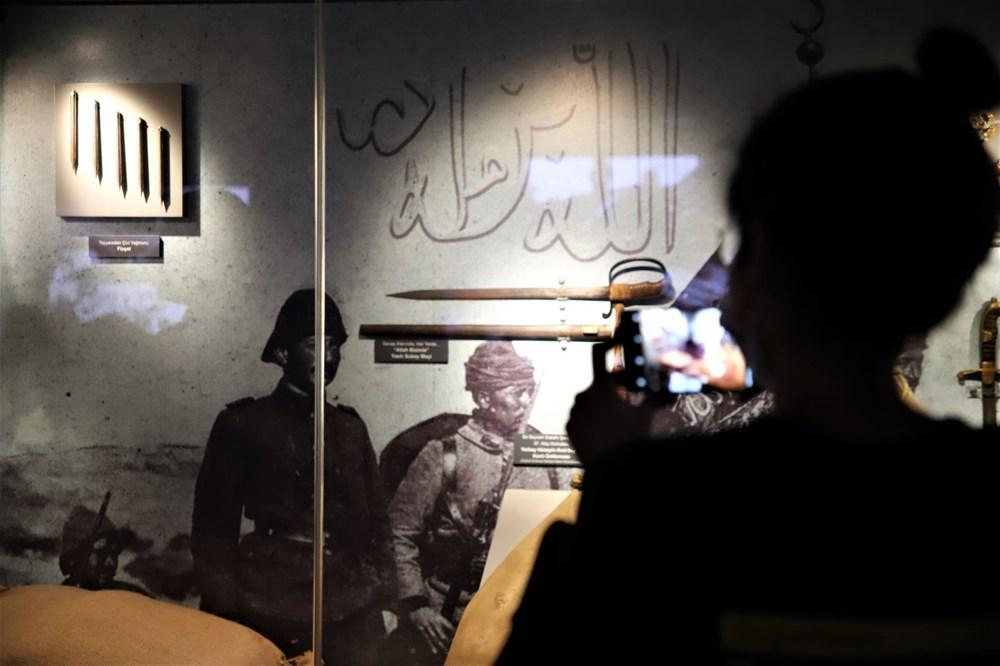 Çanakkale Savaşları Mobil Müzesi'nin 40'ıncı durağı Elazığ oldu - 4