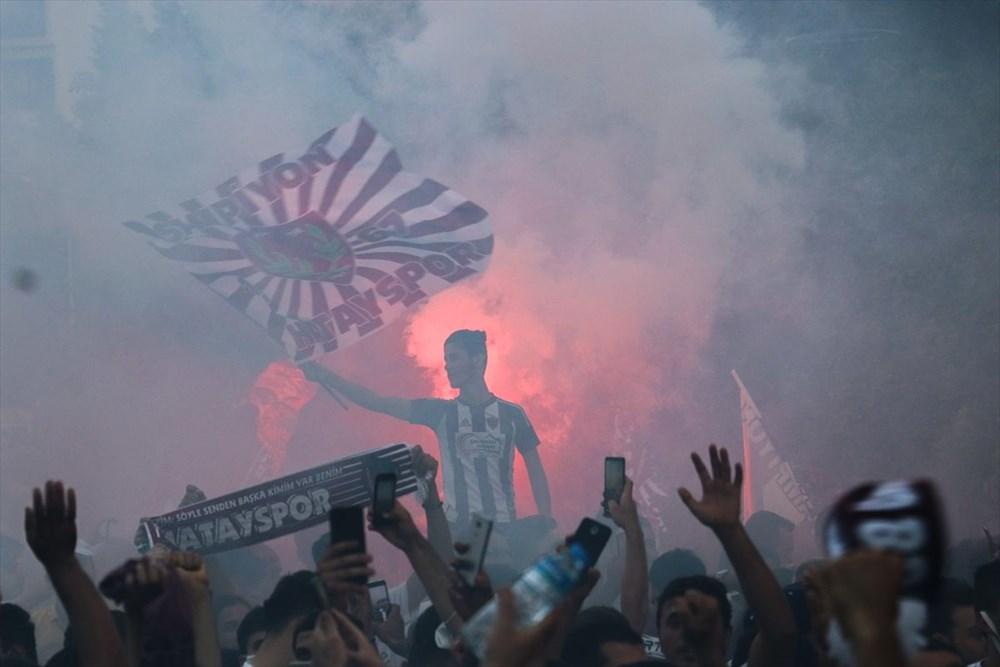 Hatayspor'un şampiyonluğu kentte büyük bir coşkuyla kutlanıyor - 2