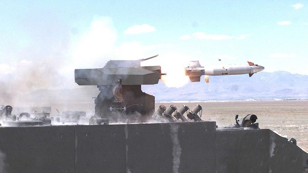 TSK'nın yeni roketatarı 12'den vurdu - 262