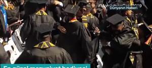ABD'li iş insanından en güzel mezuniyet hediyesi