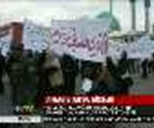 Afganistan'da gösteri